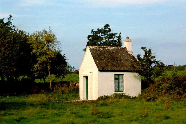 County Galway -Very Small Building along N67 between Kilcolgan & Kinvarra