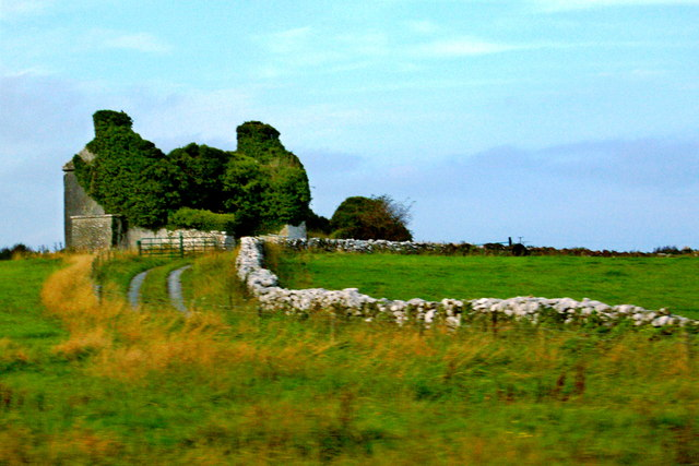 County Galway - Derelict Structure along N67, northeast of Dunguaire Castle