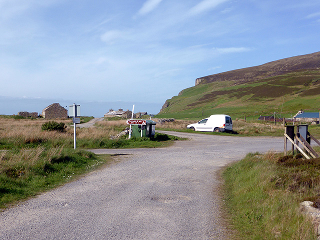 Walking from the car park at Rackwick by John Lucas