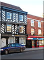 SO8932 : Tag estate agents office in Tewkesbury by Jaggery