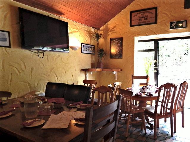 County Clare - Ballyvaghan - Monk's Pub & Restaurant Interior - Dining Area