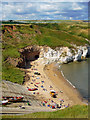 TA2372 : North Landing Beach, Flamborough by Scott Robinson