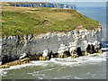 TA2372 : Chalk Cliffs, North Landing Flamborough by Scott Robinson