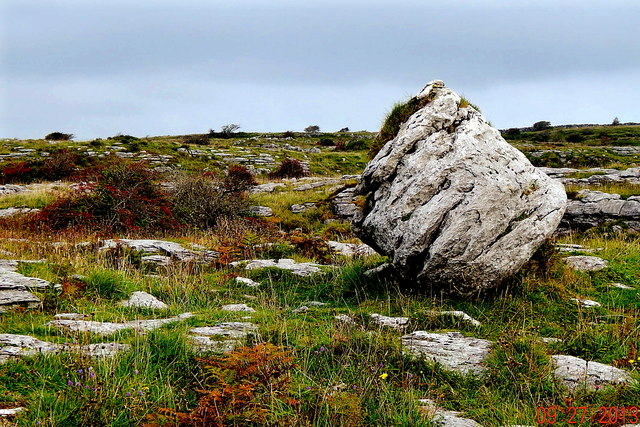 County Clare - Poulnabrone Dolmen Area - Burren Terrain