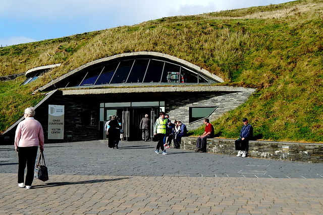 County Clare - R478 - Cliffs of Moher Visitor Centre