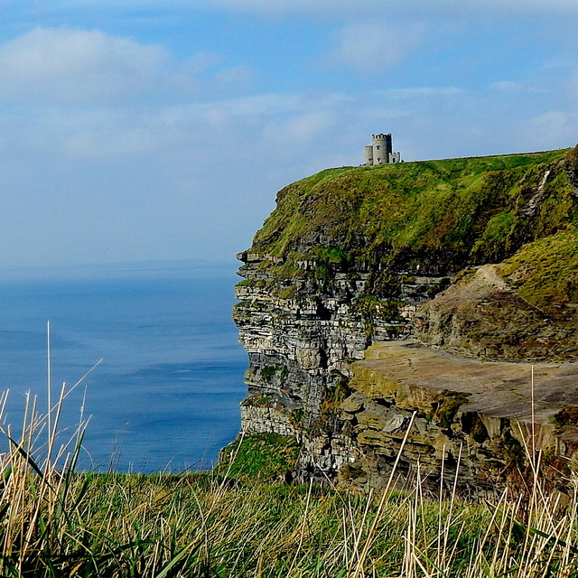 County Clare - R478 - Cliffs of Moher - O'Brien's Tower