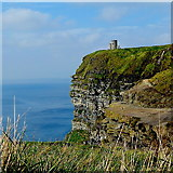 R0392 : County Clare - R478 - Cliffs of Moher - O'Brien's Tower by Suzanne Mischyshyn