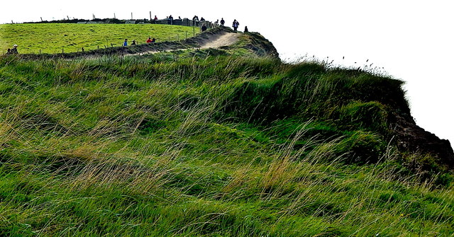 County Clare - R478 - Cliffs of Moher - Top of Southwestern Walkway/Path