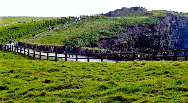 County Clare - R478 - Cliffs of Moher - Southwestern Walkway