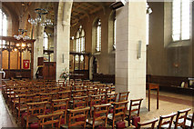 TQ4375 : St Luke, Westmount Road - Interior by John Salmon