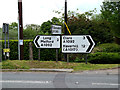 TL8346 : Roadsigns on the A1092 Lower Road by Adrian Cable