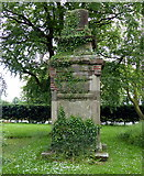 SP4788 : Remains of the High Cross monument by Mat Fascione