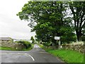 NZ0776 : Road junction, Black Heddon by Alex McGregor
