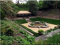 NT9953 : Castle Vale Park in Berwick by James Denham