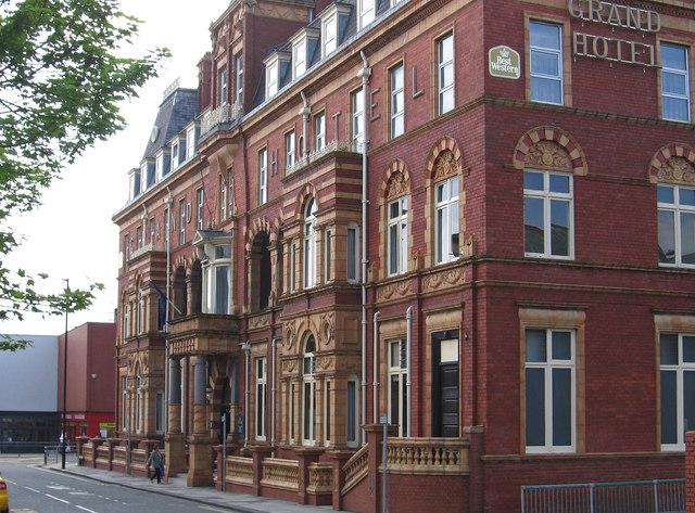 Hartlepool - Grand Hotel - Swainson Street frontage