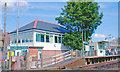 SU7605 : Southbourne Station and signal-box by Ben Brooksbank