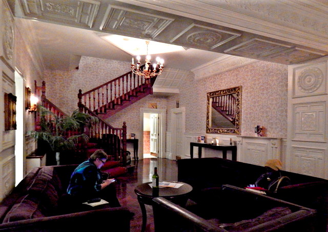 County Clare - Bunratty - Bunratty Castle Hotel Interior - Lobby Area