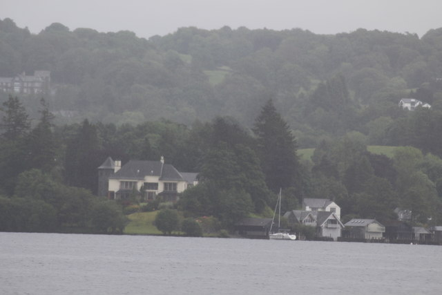 Windermere and view of Meregarth