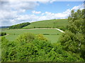 ST8817 : Littlecombe Down, view by Mike Faherty