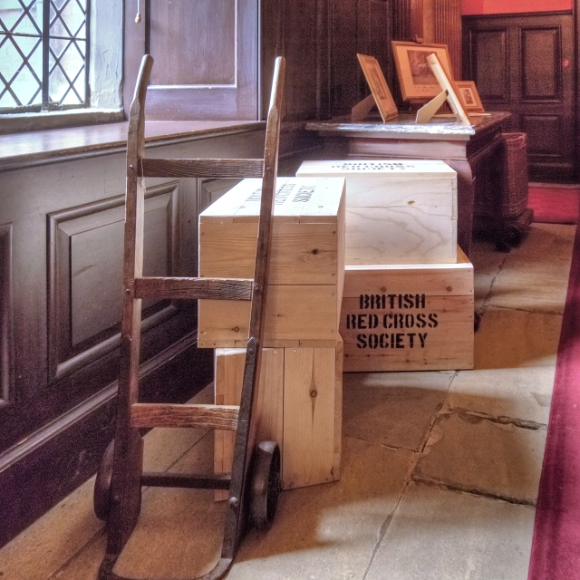 Sanctuary from the Trenches Exhibition, Dunham Massey Hall
