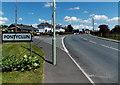 ST0381 : SW boundary of Pontyclun by Jaggery