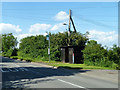SP8519 : Bus stop on Wingrave Road by Robin Webster