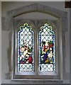 SP8812 : Buckland - All Saints - Stained Glass (3) by Rob Farrow