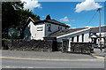 ST0381 : Shepherds The Vets in Pontyclun by Jaggery