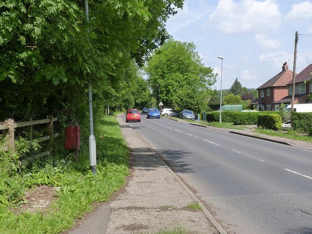 Moor Lane, looking towards Papplewick village