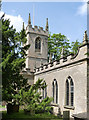 SK5451 : Church of St James, Papplewick by Alan Murray-Rust