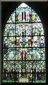 "SU9298 : St John the Baptist - ""Tree""  window (left) by Rob Farrow"