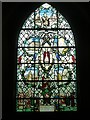 "SU9298 : St John the Baptist - ""Tree""  window (right) by Rob Farrow"