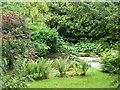 SU9299 : Little Missenden - Small weir on the Misbourne by Rob Farrow