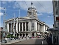 SK5739 : Nottingham Council House from the Old Market Square by Andrew Hill