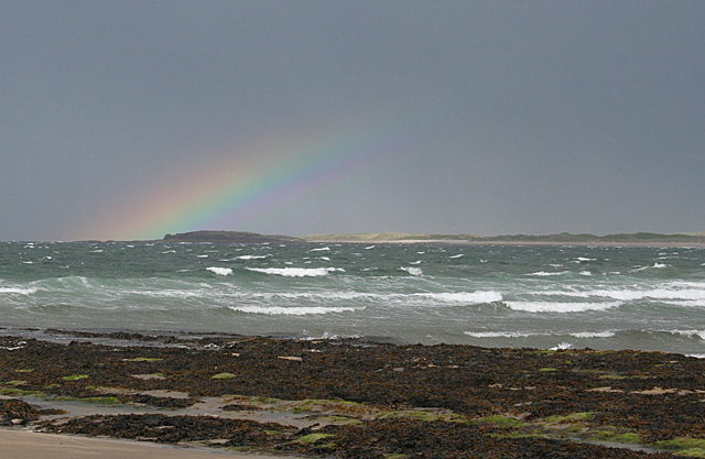 Rainbow over Conors Island