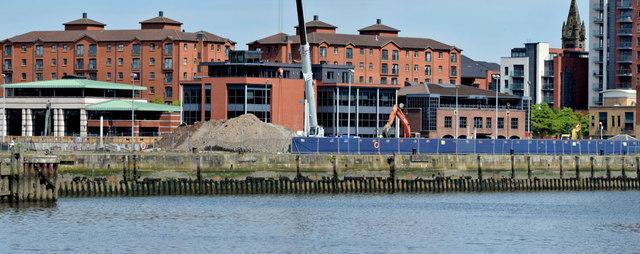 CQ1, City Quays site, Belfast - June 2014(1)