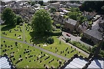 SK2168 : All Saints graveyard, Bakewell by Peter Barr