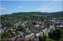 SK2168 : Bakewell seen from aloft by Peter Barr