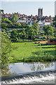 SO5074 : Across Mill Street Weir by Ian Capper