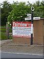 SK5755 : Fingerpost, Fishpool Road/Main Road near Ravenshead by Alan Murray-Rust