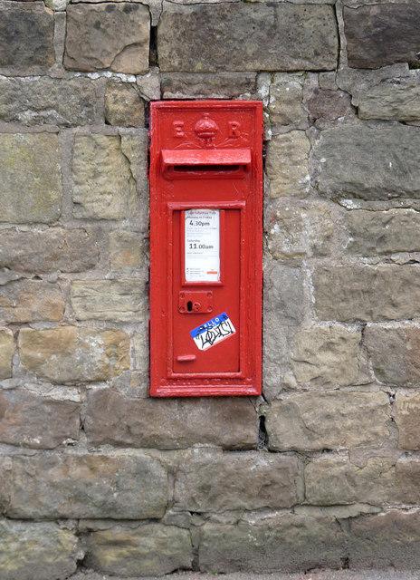 Blidworth Church postbox ref NG21 55