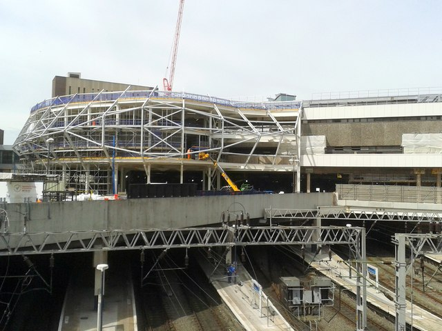 New Street Station, Construction of New Main Entrance