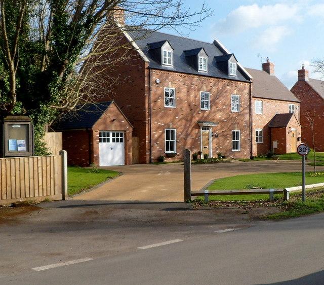 21st century house in Frampton on Severn