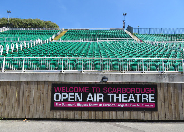 Seating At Scarborough Open Air Theatre