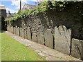 SX9064 : Gravestones, Torre churchyard by Derek Harper