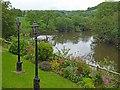 ST3894 : River Usk, Newbridge on Usk by Robin Drayton