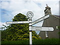 NT5571 : East Lothian County Council Fingerposts : Morham Loanhead by Richard West