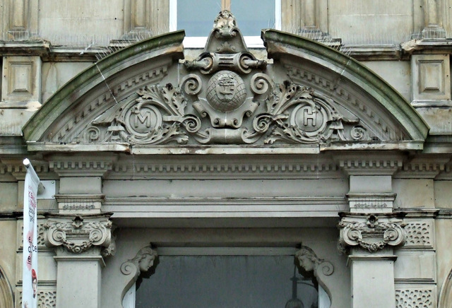Merchants' House door detail