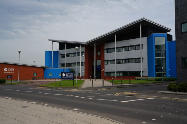 Cleveland Police, Middlesbrough HQ