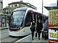 NT2373 : Haymarket tram stop by Thomas Nugent